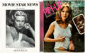 Memorabilia:Miscellaneous, Pin-Up/Movie Star News Book Group of 2 (Movie Star News/Ridge Press/Playboy Press, 1974-97).... (Total: 2 Items)