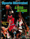 "Autographs:Others, 1984 Michael Jordan Signed ""Sports Illustrated"" Magazine. . ..."