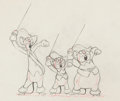 Three Blind Mouseketeers Production Drawing and Studio Model Sheets (Disney, 193 Comic Art