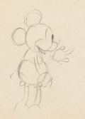 Animation Art:Production Drawing, Mickey Mouse and Pluto Animation Drawings Group of 6 (Walt Disney,c. 1940s)... (Total: 6 Original Art)