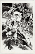 Original Comic Art:Splash Pages, E.R. Cruz Conan the Barbarian Illustration (unpublished, 1993)...