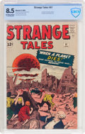 Silver Age (1956-1969):Horror, Strange Tales #97 (Marvel, 1962) CBCS VF+ 8.5 Off-white to whitepages....