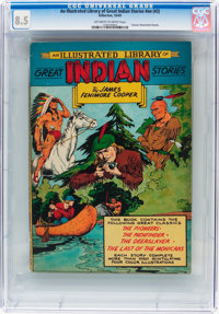 Classics Illustrated Giants: An Illustrated Library of Great Indian Stories #nn (#3) (Gilberton, 1949) CGC VF+ 8.5 Off-w...