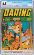 Golden Age (1938-1955):Superhero, Daring Mystery Comics #2 (Timely, 1940) CGC FN+ 6.5 Light tan to off-white pages....