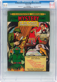 Classics Illustrated Giants: An Illustrated Library of Exciting Mystery Stories #nn (Gilberton, 1949) CGC VF 8.0 Off-whi...