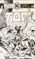 Original Comic Art:Covers, Joe Kubert Tor #5 Cover Original Art (DC, 1976)....