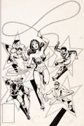 Original Comic Art:Covers, Dick Dillin and Dick Giordano DC Special Ser...
