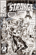 Original Comic Art:Covers, Geof Isherwood Doctor Strange, Sorcerer Supreme #53 Cover Original Art (Marvel, 1993)....