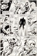 Original Comic Art:Panel Pages, Don Heck and Sal Trapani Daredevil #103 Page 21 Original Art(Marvel, 1973)....