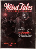 Pulps:Horror, Weird Tales - April 1924 (Popular Fiction) Condition: ApparentVG-....