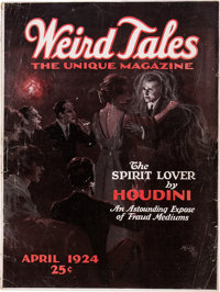 Weird Tales - April 1924 (Popular Fiction) Condition: Apparent VG-