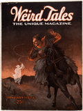 Pulps:Horror, Weird Tales - January 1924 (Popular Fiction) Condition: Apparent VG....