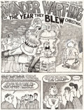Original Comic Art:Complete Story, Gilbert Shelton Drag Cartoons #46 Wonder Wart-Hog Complete5-Page Story Original Art (Pete Millar, 1967).... (Total: 5Original Art)