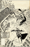 Original Comic Art:Covers, Frank Miller and Tom Palmer Amazing Spider-M...