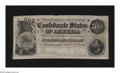 Confederate Notes:1864 Issues, T64 $500 1864. This is a bright and crispy Fine note with a couple of minute edge tears....