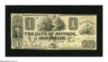 Obsoletes By State:Michigan, Monroe, MI- Bank of Monroe $1 Sep. 1, 1836. A partially clad Ceres is at rest on this Ace with healthy edges. Very Fin...