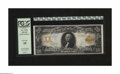 Large Size:Gold Certificates, Fr. 1184 $20 1906 Gold Certificate PCGS Very Fine 35. Vibrant colors and white paper are the desirable traits of this note b...