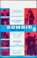 "Movie Posters:Horror, Dawn of the Dead (Filimpex, 1983). Belgian (13.75"" X 21.25""). Horror.. ..."