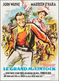 """Movie Posters:Western, McLintock! (United Artists, 1963). French Grande (45.25"""" X 62.5""""). Western.. ..."""