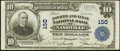 National Bank Notes:Tennessee, Nashville, TN - $10 1902 Plain Back Fr. 628 Fourth & First NBCh. # 150. ...