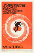 "Movie Posters:Hitchcock, Vertigo (Paramount, 1958). One Sheet (27"" X 41"") Saul BassArtwork.. ..."
