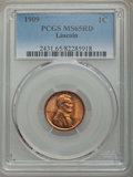 Lincoln Cents, 1909 1C Lincoln MS65 Red PCGS. PCGS Population: (1121/622). NGC Census: (398/195). CDN: $80 Whsle. Bid for problem-free NGC...