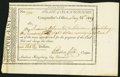 Colonial Notes:Connecticut, Connecticut Civil List $168.78 May 26, 1809 Very Fine.. ...