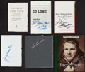 Football Collectibles:Uniforms, 2000's NFL Signed Books (Lot of 6)....