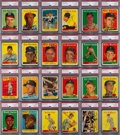 Autographs:Sports Cards, Signed 1958 Topps Baseball Near Set (451/494). ...