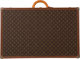 "Louis Vuitton Classic Monogram Canvas Alzer 80 Trunk Condition: 3 31.5"" Width x 20"" Height x 10.5"" Depth..."