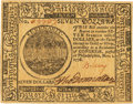 Colonial Notes:Continental Congress Issues, Continental Currency November 2, 1776 $7 Fr. CC-52. PCGS VeryChoice New 64.. ...