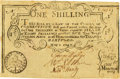 Colonial Notes:Connecticut, Colony of Connecticut May 8, 1740 Redated March 14, 1744/5 OneShilling Fr. CT-49d. PCGS Extremely Fine 40.. ...