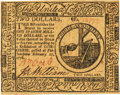 Colonial Notes:Continental Congress Issues, Continental Currency February 17, 1776 $2 Fr. CC-24. PCGS Choice About New 58PPQ.. ...