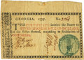 Colonial Notes:Georgia, Georgia 1777 No Resolution Date $7 Fr. GA-88. PCGS Very Fine 25 Apparent.. ...