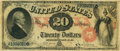 Large Size:Legal Tender Notes, Fr. 128 $20 1875 Legal Tender PCGS Very Fine 20.. ...