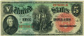 Large Size:Legal Tender Notes, Fr. 64 $5 1869 Legal Tender PCGS Choice New 63.. ...