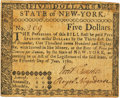 Colonial Notes:New York, State of New York June 15, 1780 $5 Fr. NY-210. PCGS Very Fine 25 Apparent.. ...