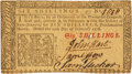 Colonial Notes:New Jersey, New Jersey February 20, 1776 6 Shillings John Hart Signature Fr.NJ-170. PCGS Choice About New 58PPQ.. ...