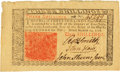 Colonial Notes:New Jersey, New Jersey March 25, 1776 3 Shillings John Hart Signature Fr.NJ-177. PCGS Very Choice New 64.. ...