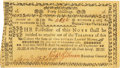 Colonial Notes:New Hampshire, New Hampshire November 3, 1775 40 Shillings Fr. NH-152. PCGSExtremely Fine 45PPQ.. ...