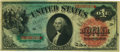 Large Size:Legal Tender Notes, Fr. 18 $1 1869 Legal Tender PCGS Choice About New 55.. ...