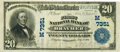 National Bank Notes:Missouri, Braymer, MO - $20 1902 Plain Back Fr. 650 The First NB Ch. #(M)7351 PCGS Very Fine 30PPQ.. ...