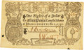 Colonial Notes:Massachusetts, Lawful Money of Massachusetts-Bay 1750 $1/8 or Nine Pence Fr. MA-138. PCGS Very Fine 35 Apparent.. ...