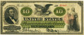 Large Size:Legal Tender Notes, Fr. 94 $10 1862 Legal Tender PCGS Very Fine 30.. ...