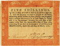 Colonial Notes:Maryland, State of Maryland May 10, 1781 5 Shillings Fr. MD-130. PCGSExtremely Fine 40.. ...