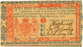 Colonial Notes:New Jersey, New Jersey March 25, 1776 3 Pounds Fr. NJ-182. PCGS Choice About New 58PPQ.. ...
