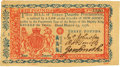 Colonial Notes:New Jersey, New Jersey March 25, 1776 3 Pounds Fr. NJ-182. PCGS Very Choice New 64.. ...