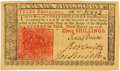 Colonial Notes:New Jersey, New Jersey March 25, 1776 3 Shillings Fr. NJ-177. PCGS Gem New66PPQ.. ...