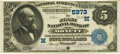 National Bank Notes:Missouri, Monett, MO - $5 1882 Value Back Fr. 574 The First NB Ch. # (M)5973PCGS Very Fine 30PPQ.. ...