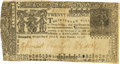 Colonial Notes:Maryland, Maryland July 14, 1756 20 Shillings Fr. MD-37. PCGS Very Fine 25Apparent.. ...